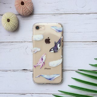 Whale essay phone case