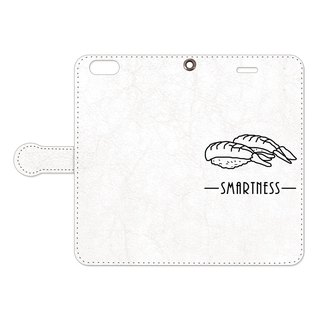 [Notebook type iPhone case] SMARTNESS / Sushi