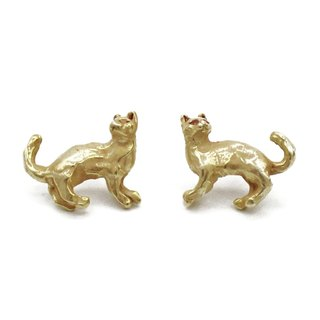 Reflected Cats (Gold) / Reflect Cat (Gold) PA406GD