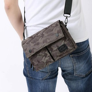 Multi-purpose bag cross-body bag bicycle bag travel bag pocket Wander - green camouflage
