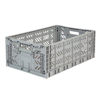 Turkey Aykasa Folding Storage Basket (L) - Gray