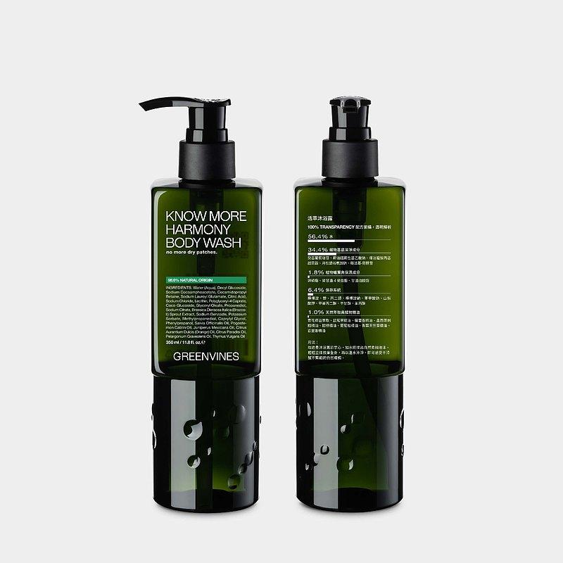 活萃沐浴露 - 溫和清潔 肌膚柔嫩保水 植物來源清潔配方