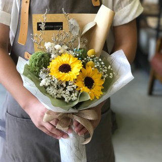 璎珞 Manor * Not withered. Eternal Flower / Gypsophila Bouquet / G108 / Valentine's Day Bouquet / Sunflower Bouquet