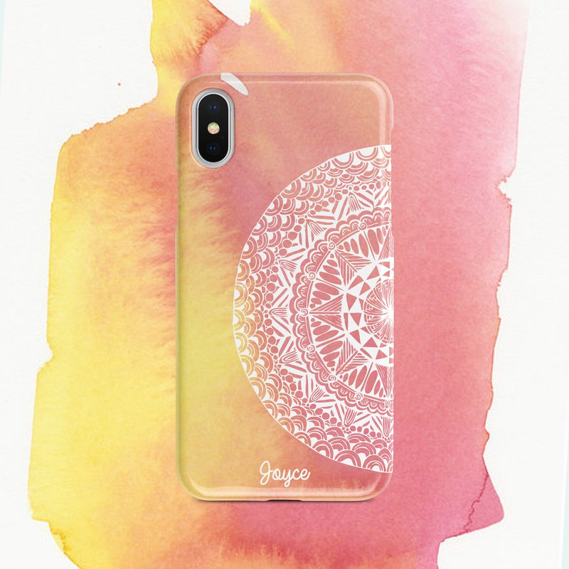 Customized Zen Winding Mobile Phone Case - Add Word / Change Color / Let You Combine