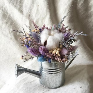 / Soft fog / pink purple macaron cotton dry bouquet / store decoration office small object shooting props