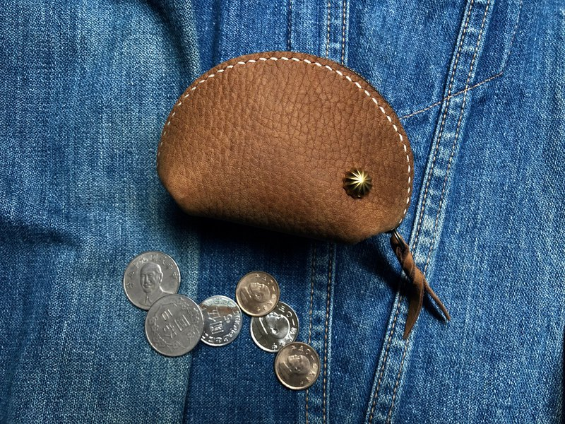 Zipper coin purse