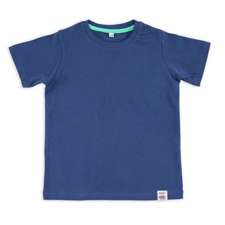 Tools primary color children's clothing T :: navy blue::