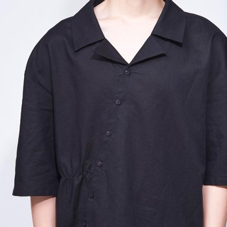 8 lie down . Side elasticated buckle shirt