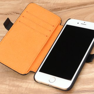 STORYLEATHER made iPhone 6 / 6S (4.7 inches) Style i67 crust rolled side of the holster