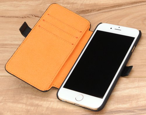 STORYLEATHER customized iPhone 6 / 6S (4.7 inches) Style i67 monocoque weave holster rollover