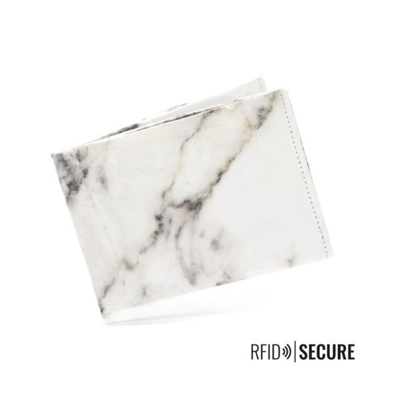 Germany Paprcuts.de RFID Anti-theft Short Clip (Marble White)