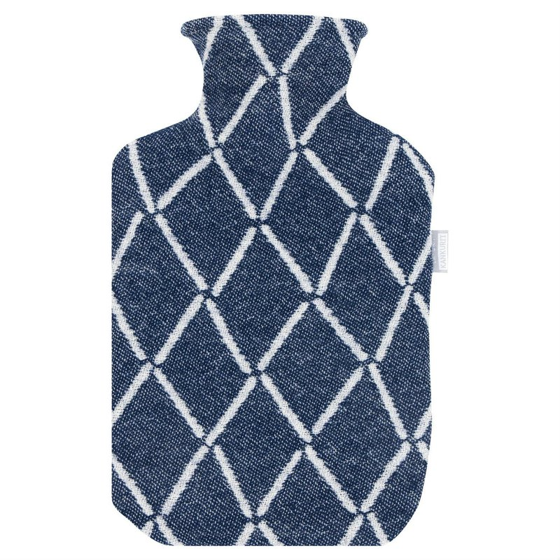 ESKIMO hot water bottle (navy)