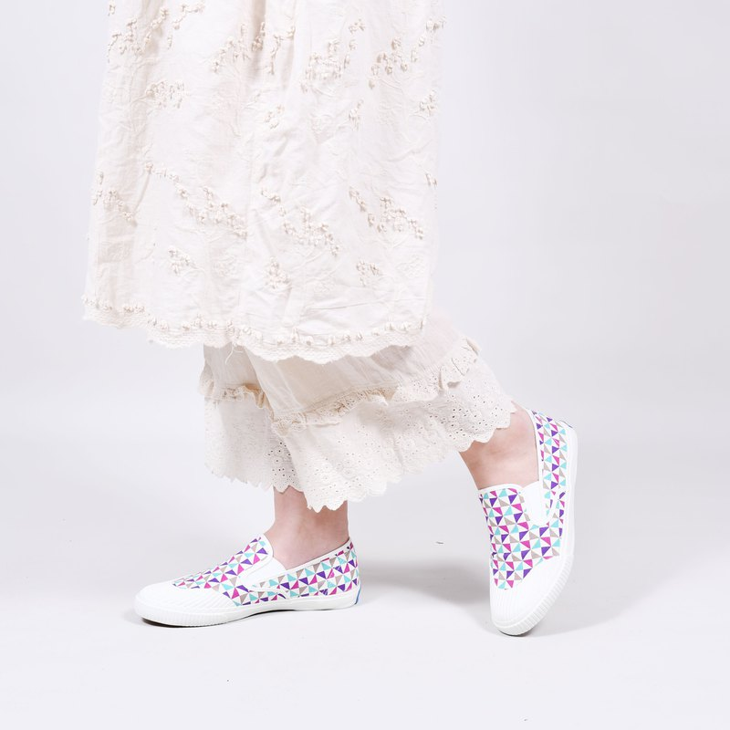 EASY limited edition floral lazy shoes - time kaleidoscope