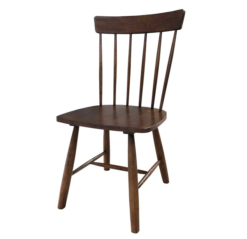 Wesgren Nordic modern Japanese solid wood dining chair chair stool Windsor chair