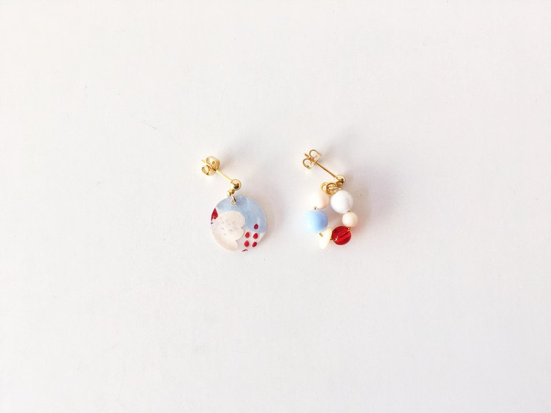 Huahua World Series-Handmade Earrings / Ear Clips