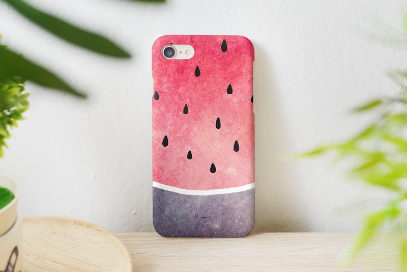60-2 red watermelon iphone case for iphone 6,7,8, plus iphone xs, iphone xs max