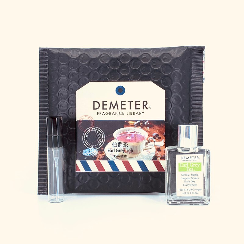 Smell Library Demeter [Earl Tea] Earl Grey Tea15ml Wipe +5ml bottle set