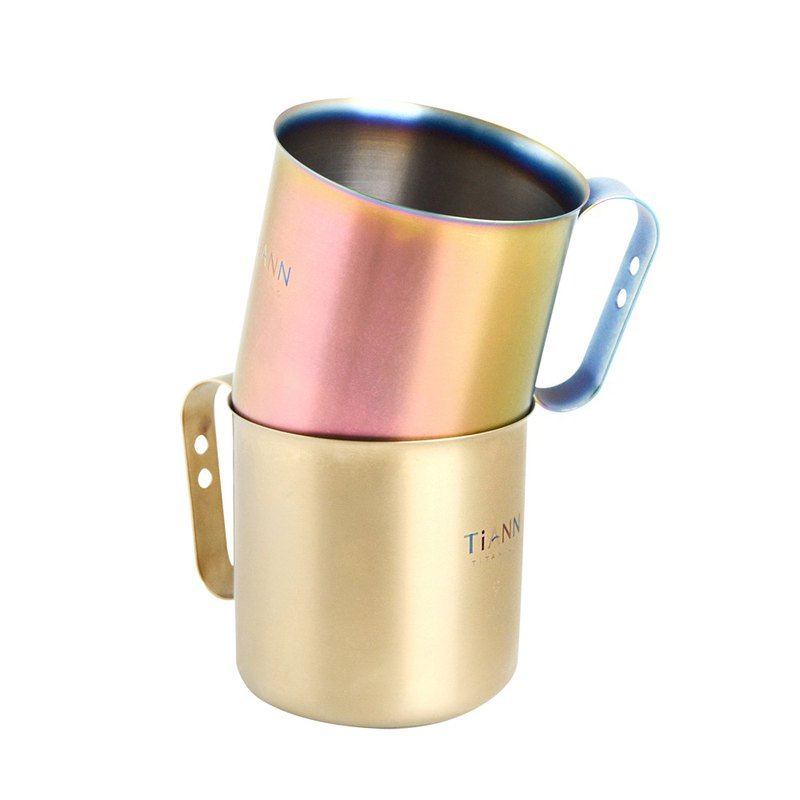 TiCup Titanium Cup*2 PCS (Multicolored)
