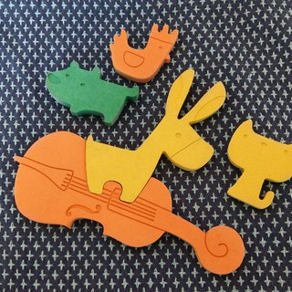 [Baby toys] Blymy band ┇ environmental non-toxic puzzle puzzle