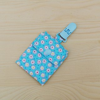 Small flower blooms peaceful blessing bag _ blue / blessing bag