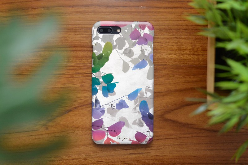 42-6 natural color leafs iphone caseสำหรับ iphone6,7,8, iphone xs, iphone xs max