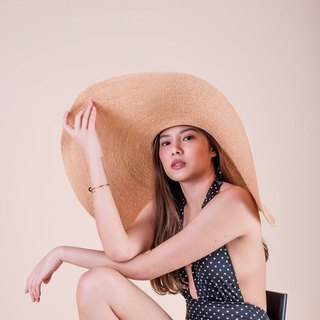 Vacay Hat (Color/Brown Sand)