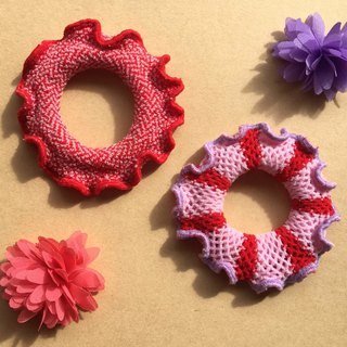 MOYA hair ring strawberry circle 2 a group