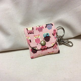 Headphones admission package | talismans Bag | Purse | small pink - Owl