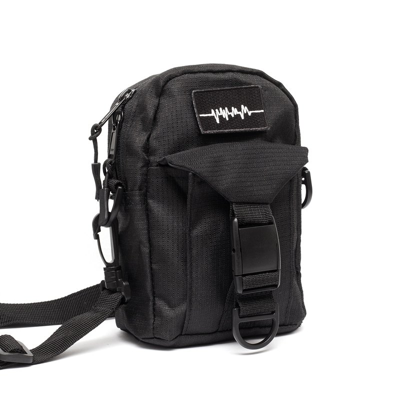 Recovery x PVCT co-branded ECG embroidery water-repellent side backpack