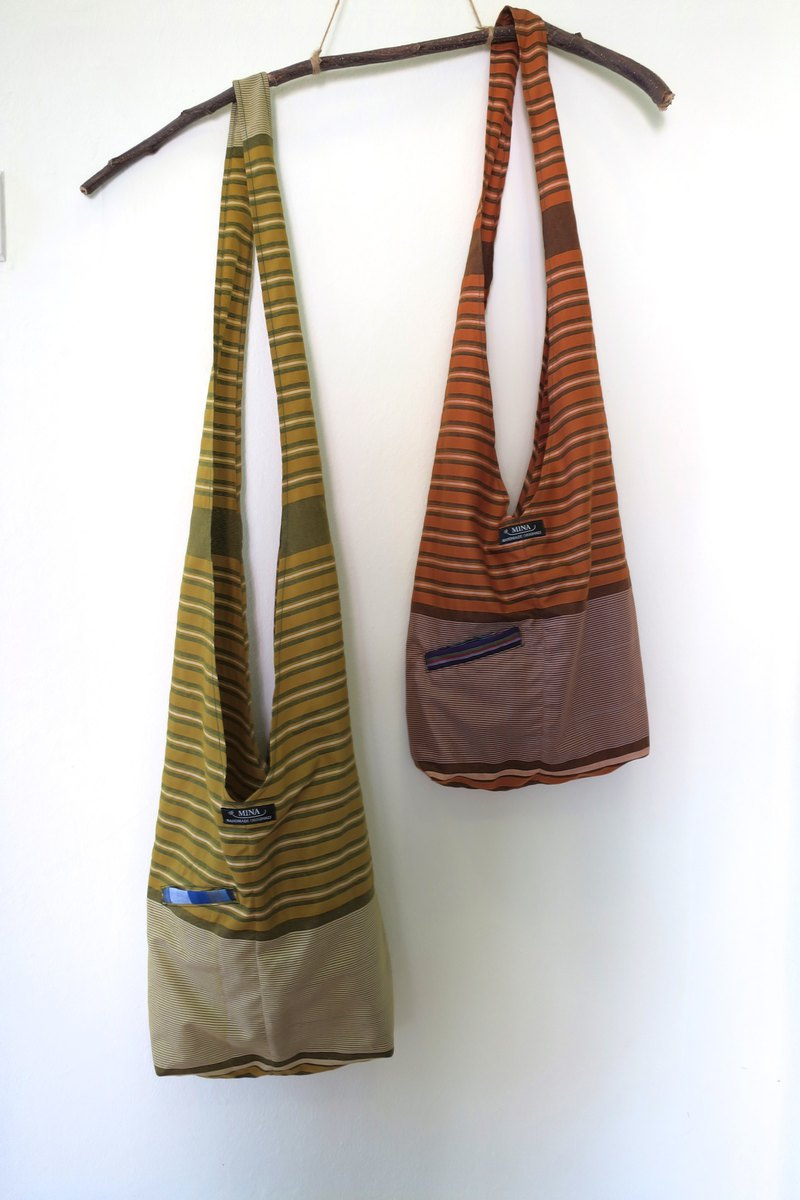Shoulder Bag Set A Indonesian Sarong Fabric