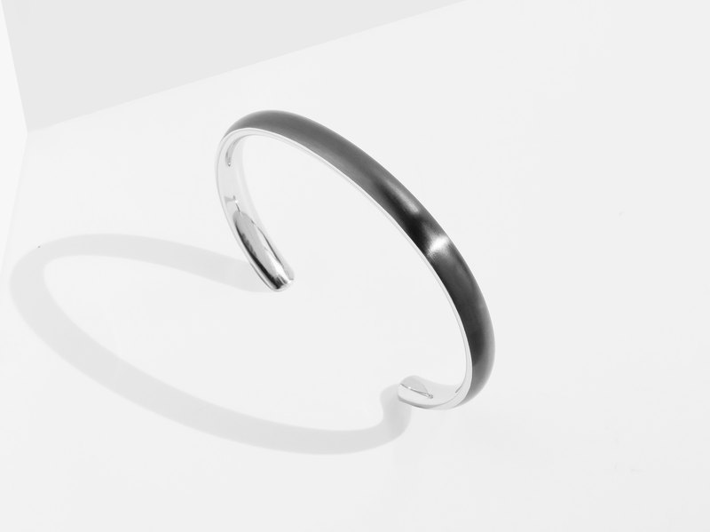 BOLD Cuff | Grey | Personalised Gift