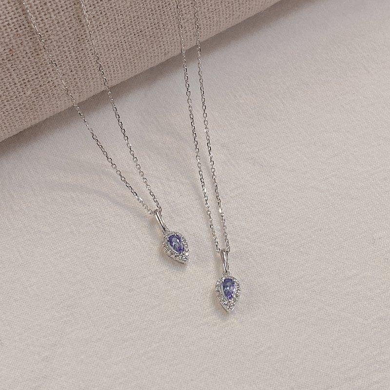尊貴優雅的 Adela | 18K金鑽石頸鏈 (可客製化)