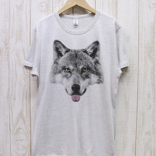 ronronWOLF Tee Beh (Heather White) / RPT003 - HWH