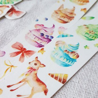 September new product pre-order - gift special code deer macaron paper tape