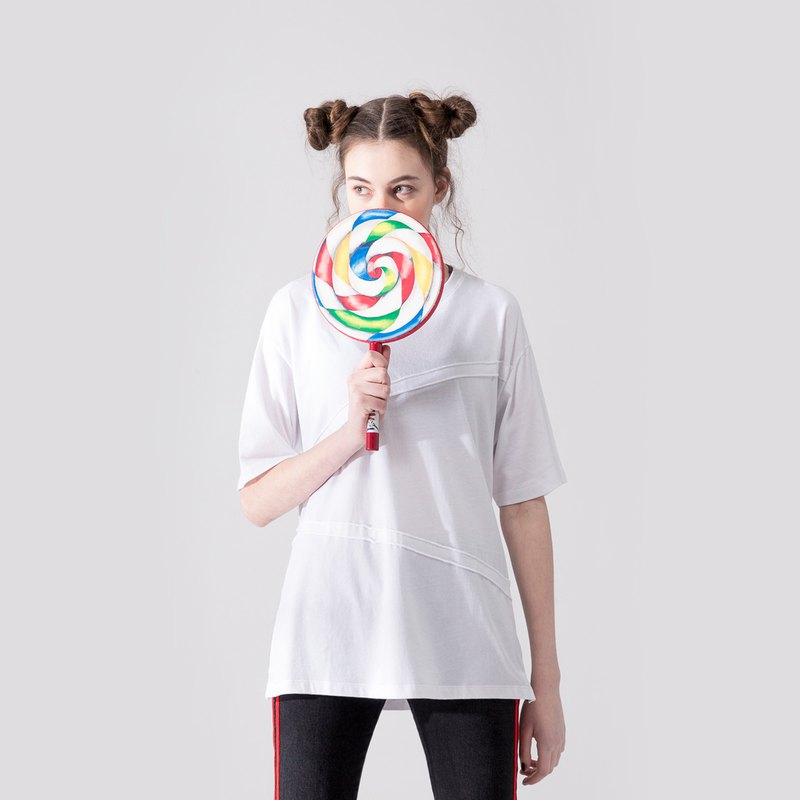 UNISEX MIX AND MATCH T SHIRT / White