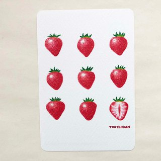 A lot of strawberry postcards no.161