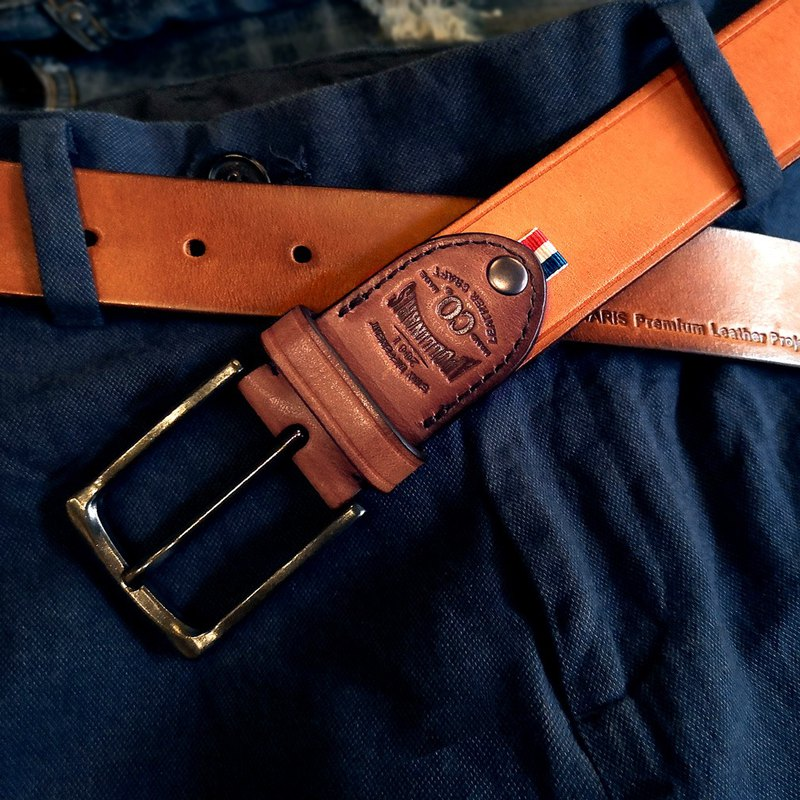 Leather Belt, Men's Belt, Top Layer Cowhide Handmade, Gift