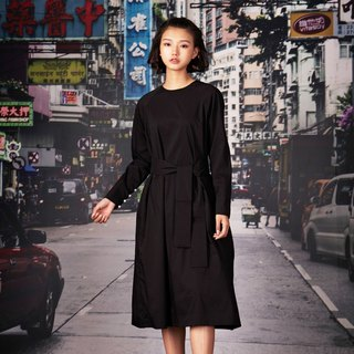 kitann ino retro feel raglan sleeves round neck dress mini dress