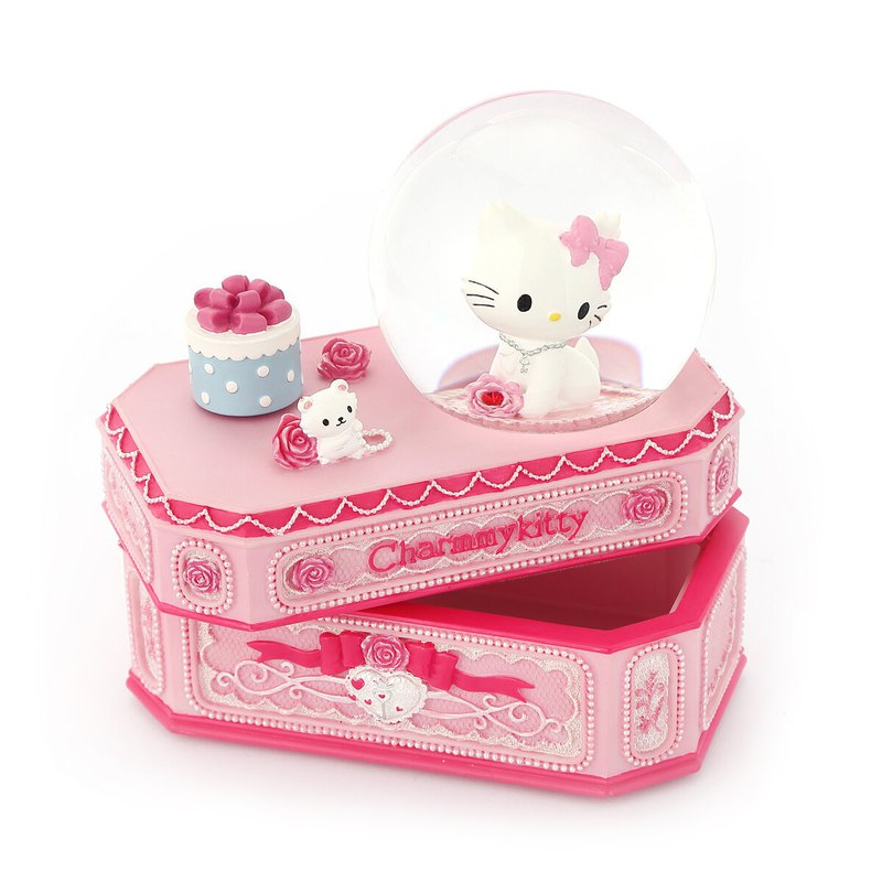 CHARMMYKITTY Jewelry Box Music Box Birthday Valentine's Day Christmas Gift Healing Storage