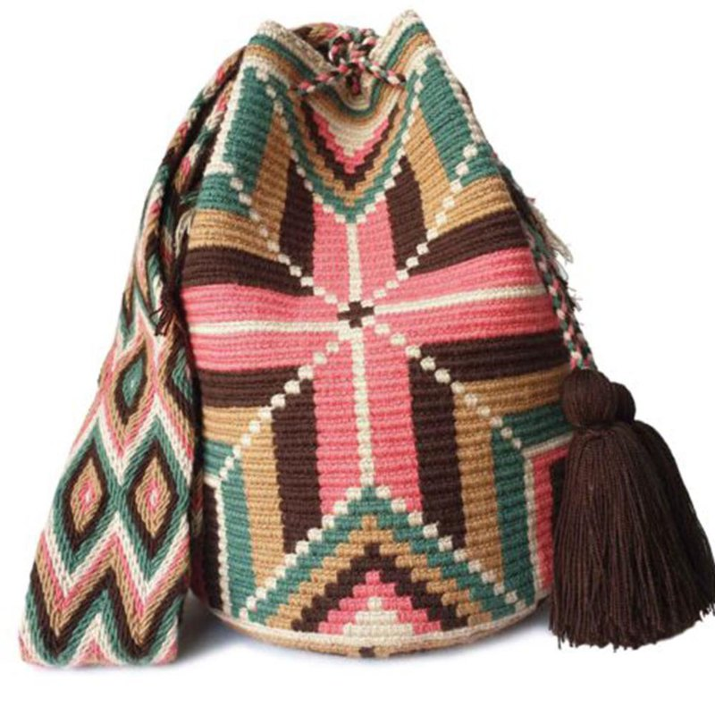 Wayuu Bag Wayuu Bag (L) / Colombia Handmade / Only one for each-【绿谷 悠 岚】