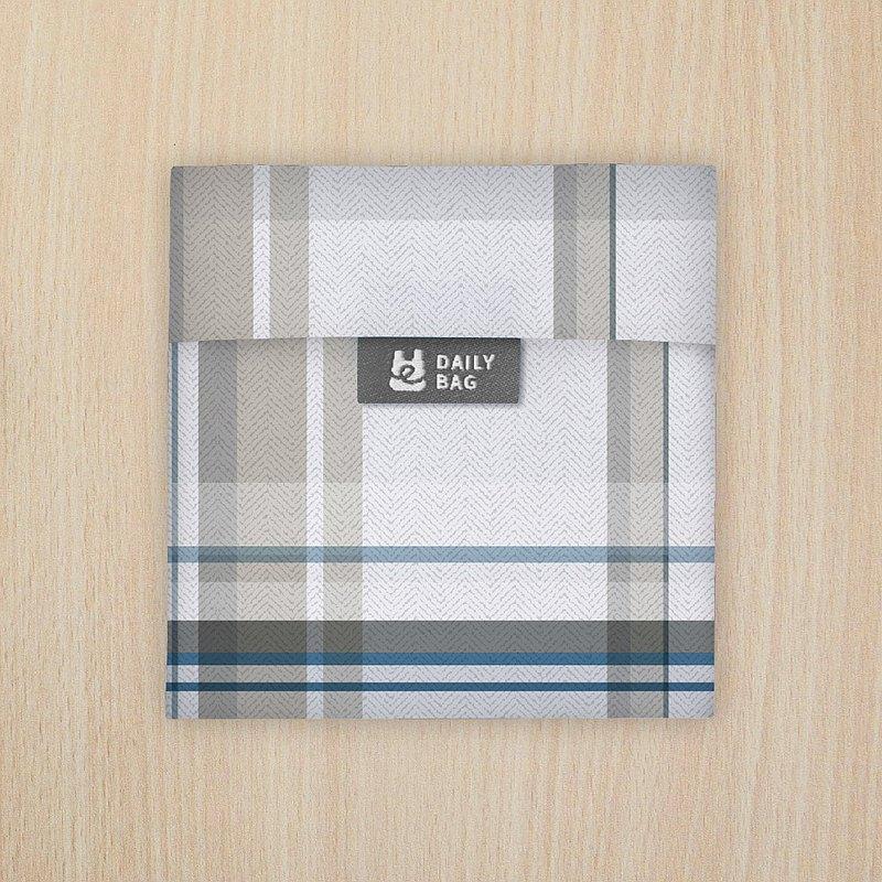 【買3送1】口罩收納袋 - 淺色格紋 (防疫必備小物) ~7/4止