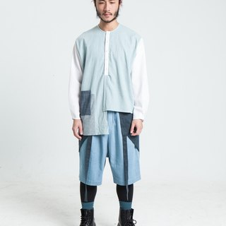 Alan Hu 2017 S/S Asymmetrical Shirts