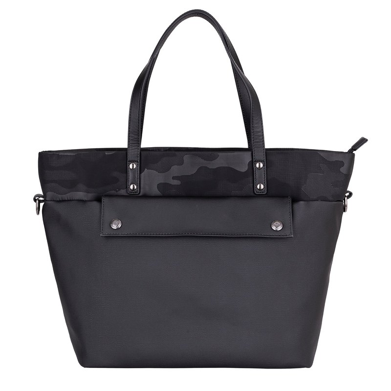 Clearance-Duck Three-Use Tote Bag-Black