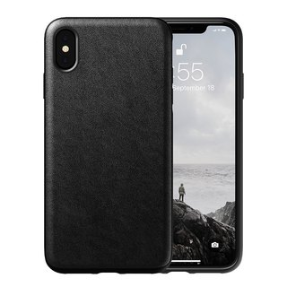 American NOMAD iPhone X / Xs Classic Leather Drop Protection Case - (855848007779)