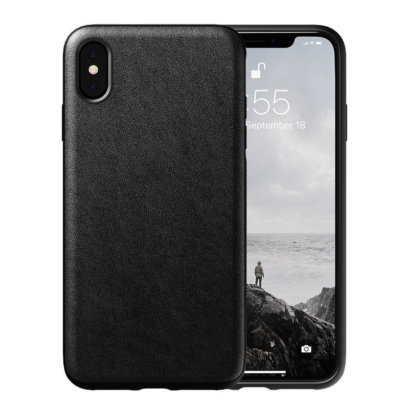 timeless design 88e53 0ece0 American NOMAD iPhone X / Xs Classic Leather Drop Protection Case -  (855848007779)