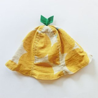 Grow Up! Leaf Hat for Baby & Toddler / Yellow Baloon