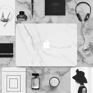 Original marble marble texture Apple laptop film Macbook stickers protective film protective film (including three)