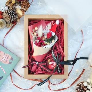 Goody Bag - Limited Dry Flower Christmas Gift Box (Small) - Comes with a bag