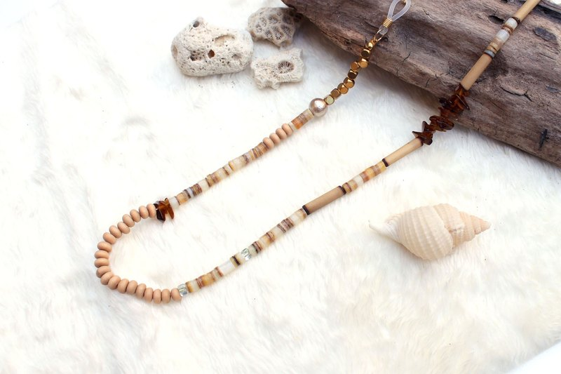 Sunset Beach Shell Necklace/ Glasses chain/ Bracelet