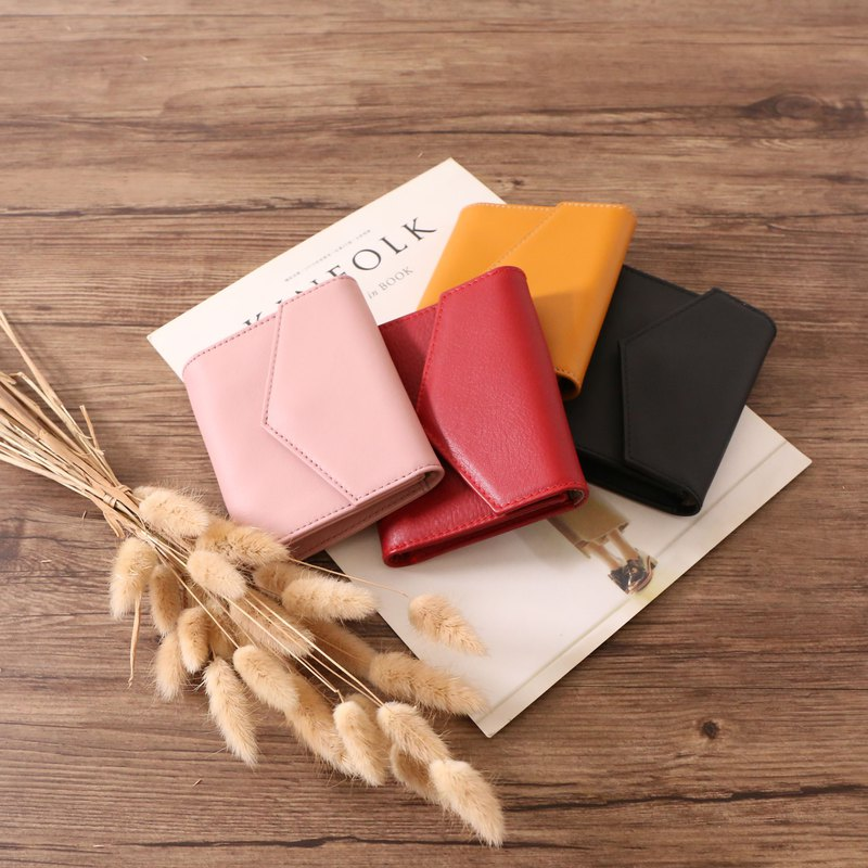 Neo hippie envelope card holder small wallet
